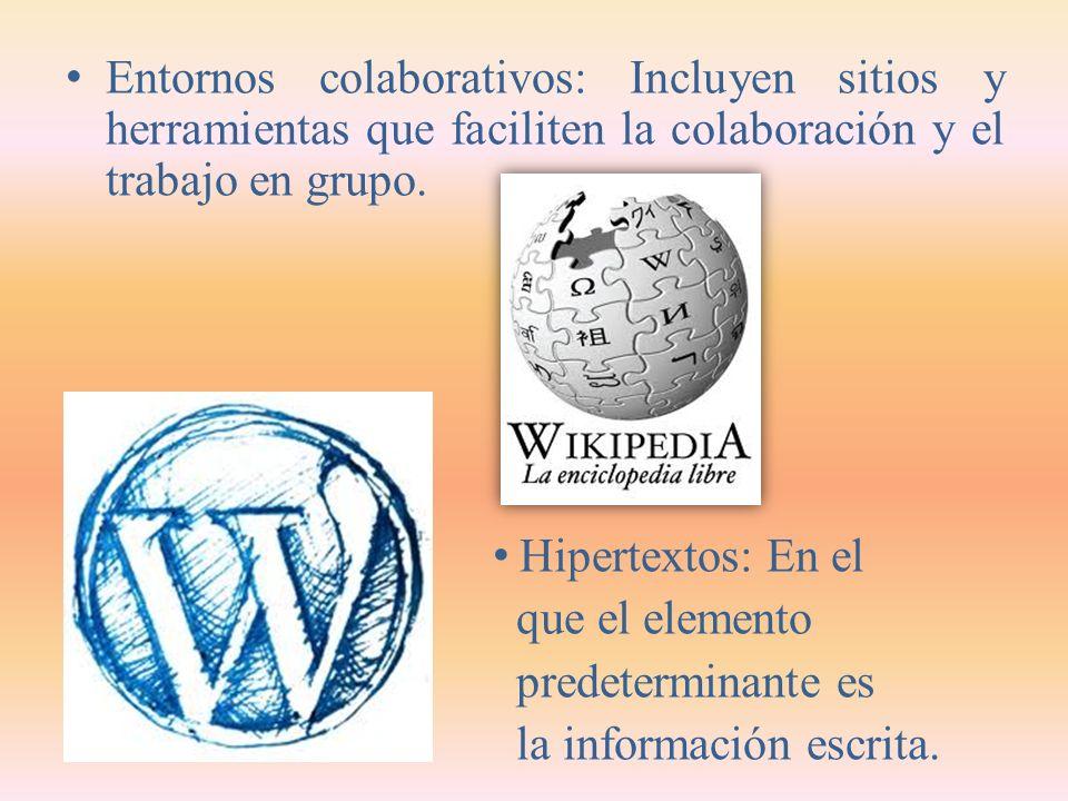 Ámbitos de Comunicación de Internet Comunicaciones interpersonales: Correo electrónico, microbloggin o la telefonía IP.