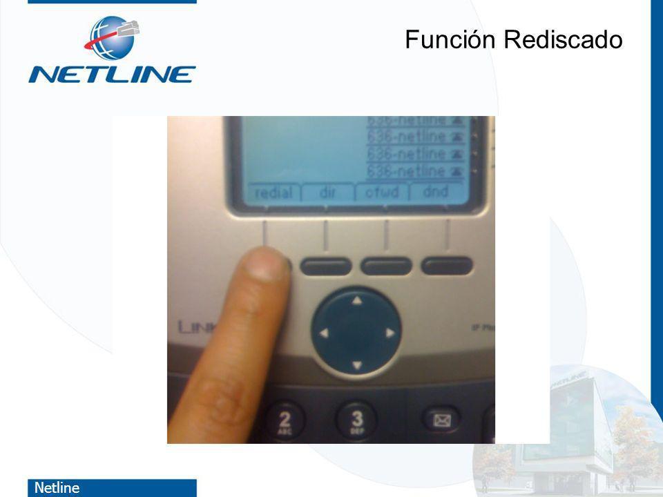 Netline Función Rediscado