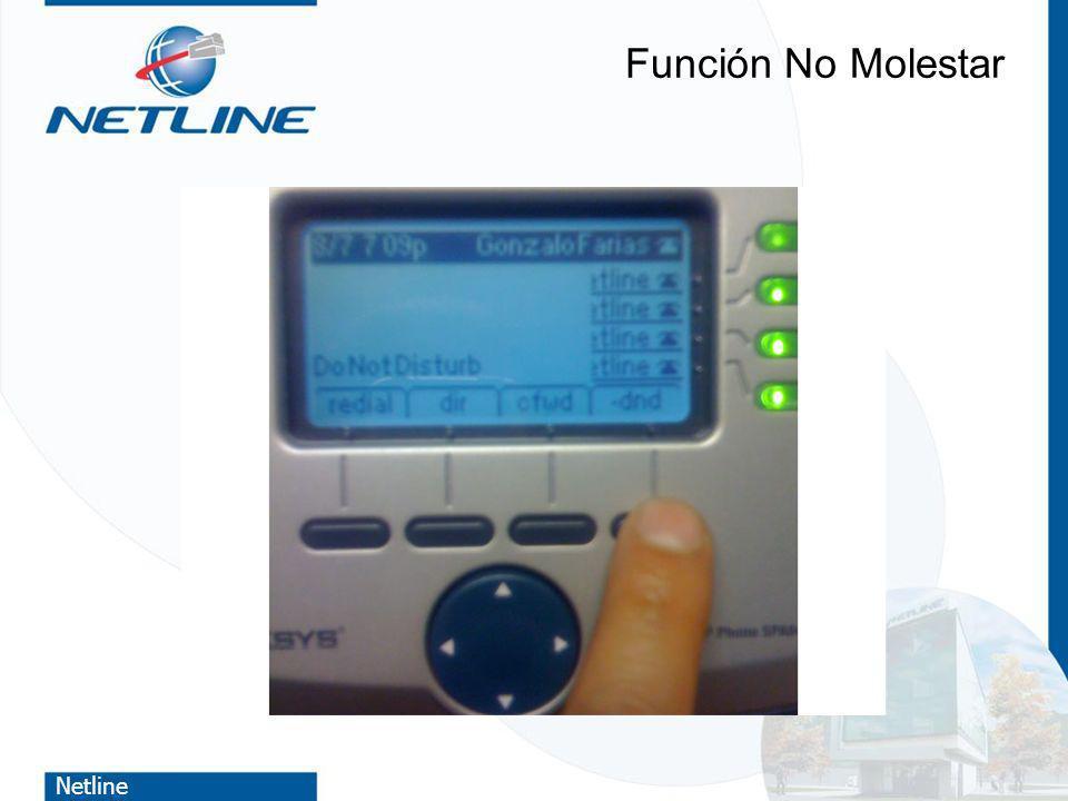 Netline Función No Molestar