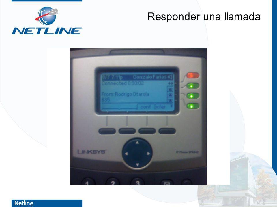 Netline Responder una llamada