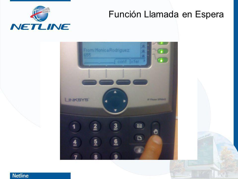 Netline Función Llamada en Espera