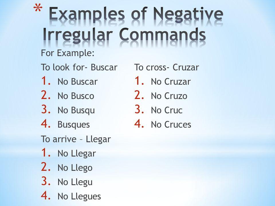 Pon a) Affirmative b) Negative c) Negative Irregular d) Affirmative Irregular Answer: d) Affirmative Irregular