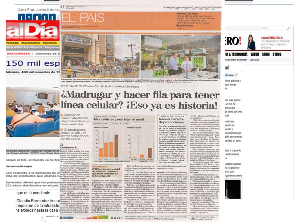 7 Resultados ANTESDESPUÉS Mercado en monopolio.Mercado en competencia (119 empresas).