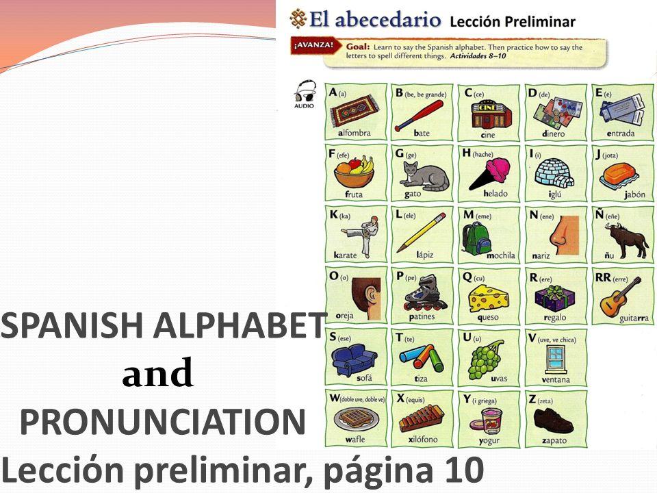 Lecciόn preliminar, páginas 22, 23, 25 Hasta luego= See you later