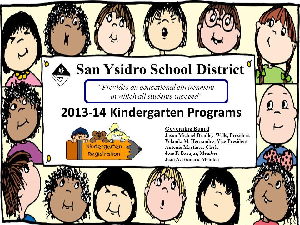 Lorena Varela-Reed, Coordinator San Ysidro School District Preschool & Child Development Programs (619) 428-2352