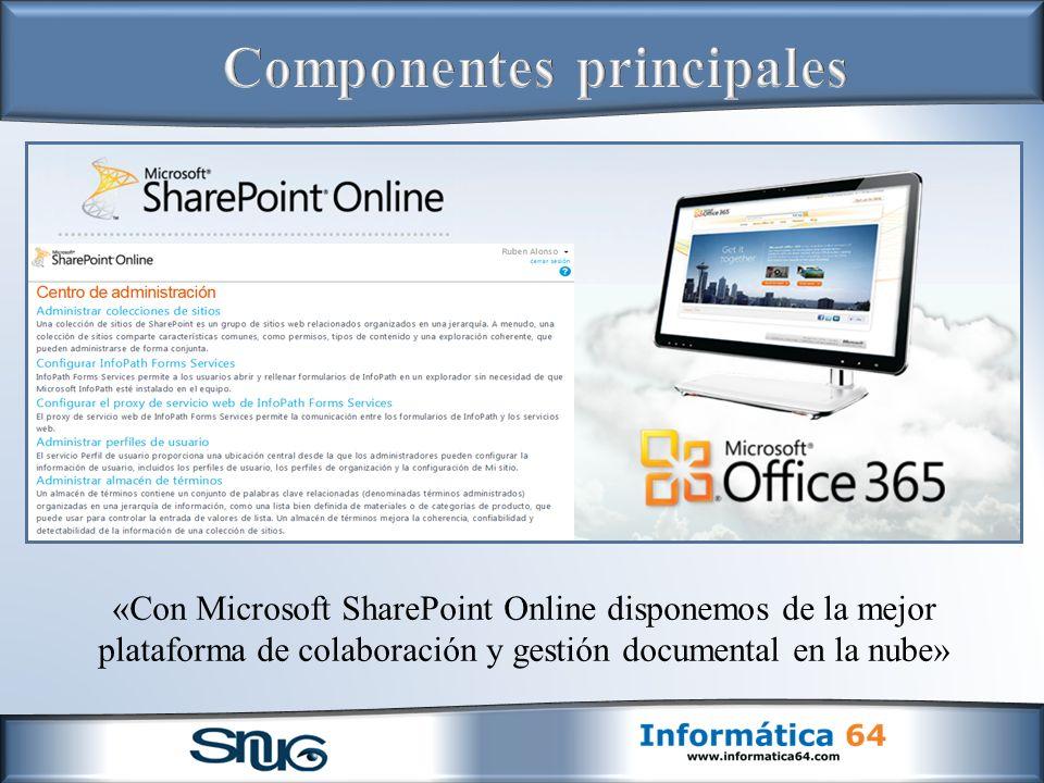 «Con Microsoft SharePoint Online disponemos de la mejor plataforma de colaboración y gestión documental en la nube»