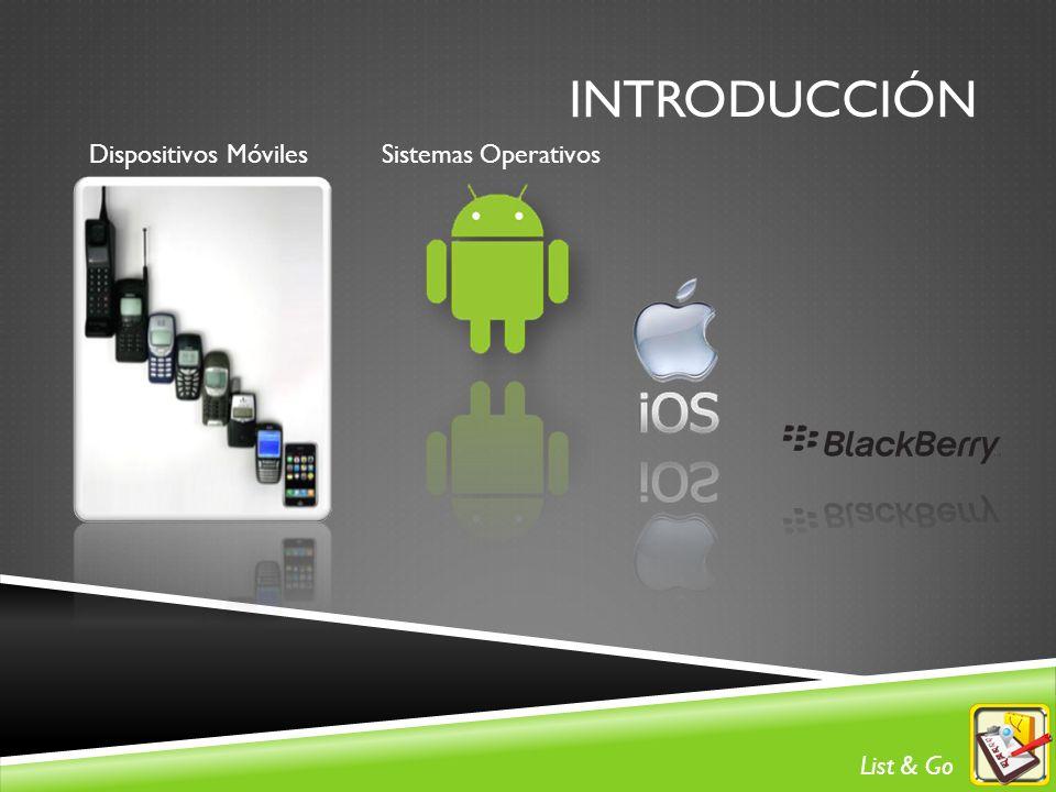 INTRODUCCIÓN Dispositivos MóvilesSistemas Operativos List & Go