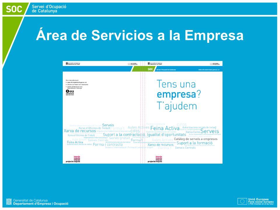 Área de Servicios a la Empresa