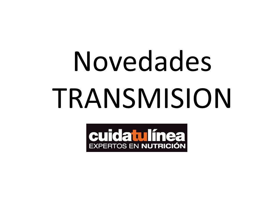 Novedades TRANSMISION