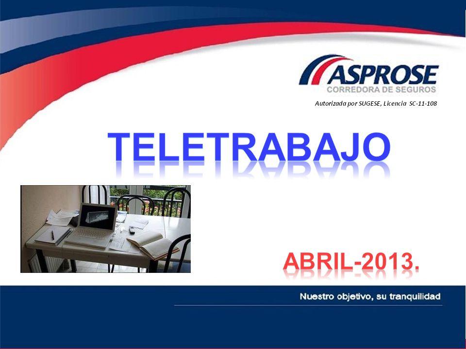 El Teletrabajo es una forma de trabajo a distancia que utiliza las tecnologías de la información y de las comunicaciones, conocidas con su abreviatura TICs.