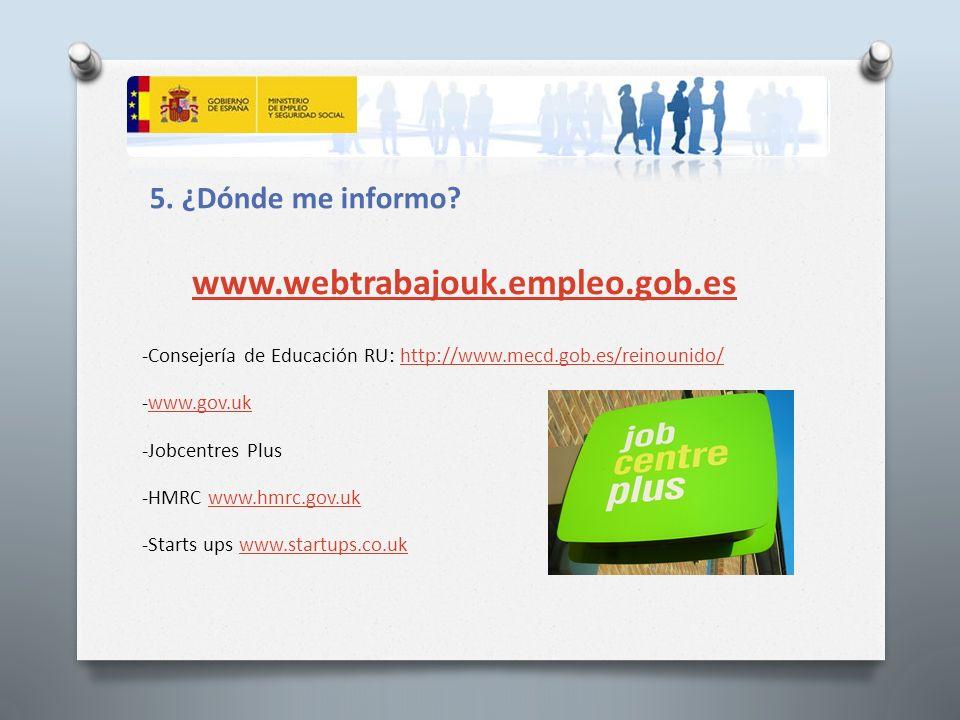 Turno de Preguntas www.webtrabajouk.empleo.gob.es constrab.londres@meyss.es