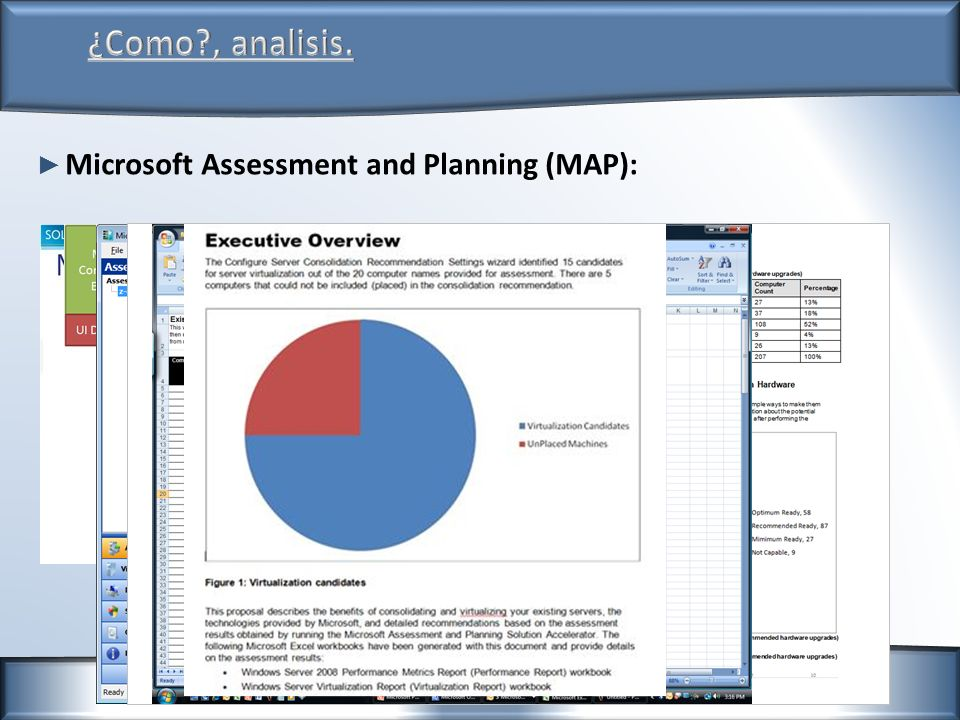 Microsoft Assessment and Planning (MAP):