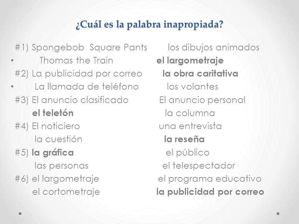 ACTIVIDAD DE ENTRADA - Analogías – TASK: Completen Uds.