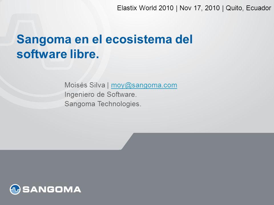 Sangoma en el ecosistema del software libre.