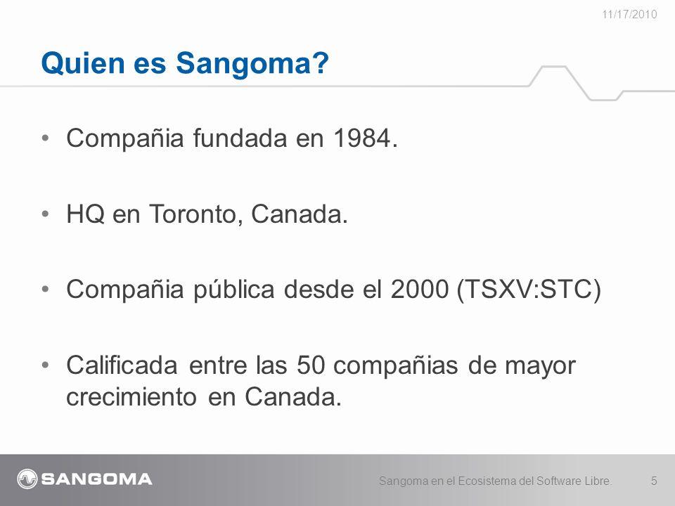 Compañia fundada en 1984.HQ en Toronto, Canada.