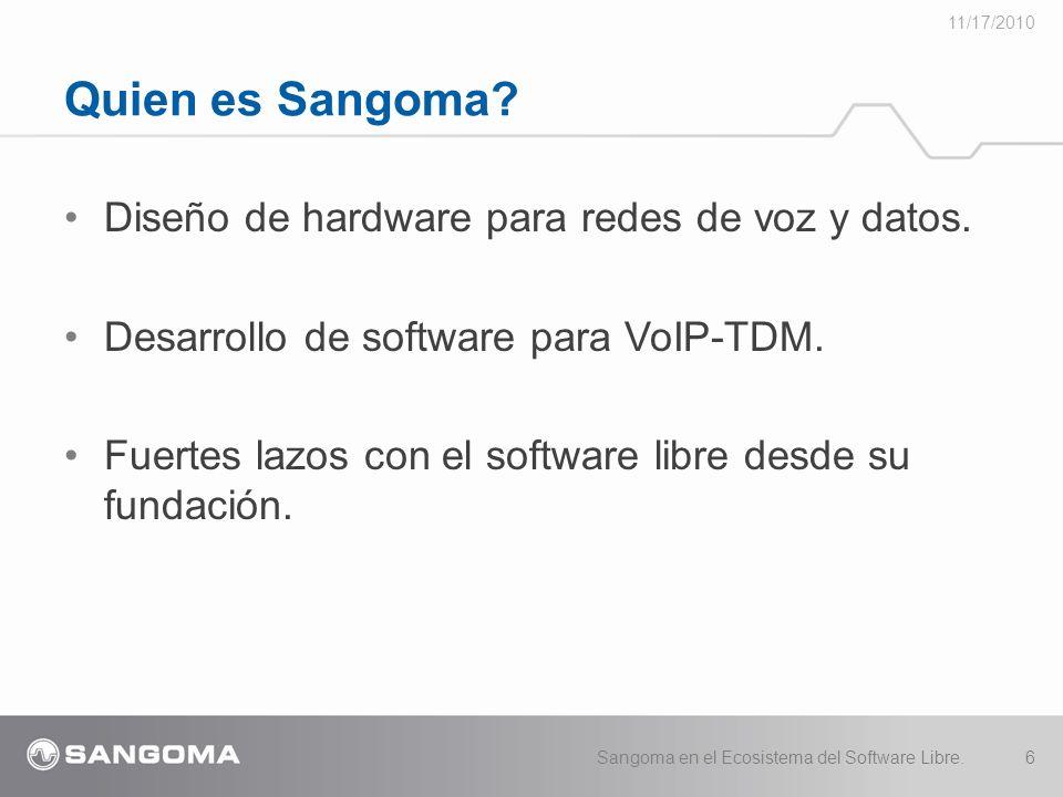 Diseño de hardware para redes de voz y datos.Desarrollo de software para VoIP-TDM.