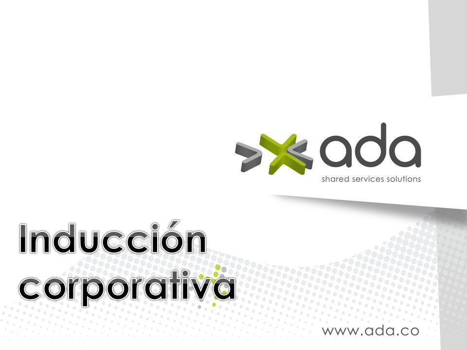 ADA S.A, empresa fundada en 1991, ha logrado durante los últimos años la madurez necesaria para brindar soluciones integrales (Consultoría de Tecnologías de Información (TI), Software para Planificación de Recursos Empresariales (ERP), Desarrollo de Software, Externalización de Tecnologías de Información, Externalización de Procesos Empresariales (BPO) e Integración de Tecnologías de Información) alrededor del revolucionario concepto de Servicios Compartidos, orientado a mejorar la gestión de sus clientes, por esta razón y por su crecimiento sostenido durante los últimos años, se proyecta como una de las más dinámicas en cuanto a desarrollo de conocimiento y crecimiento organizacional en Colombia
