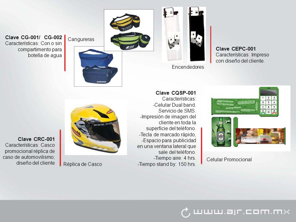 Encendedores Clave CEPC-001 Características: Impreso con diseño del cliente.