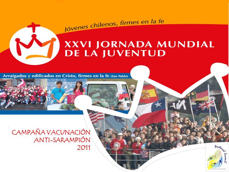 CAMPAÑA VACUNACIÓN ANTI-SARAMPIÓN 2011