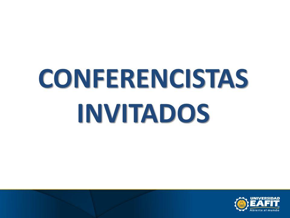 CONFERENCISTAS INVITADOS
