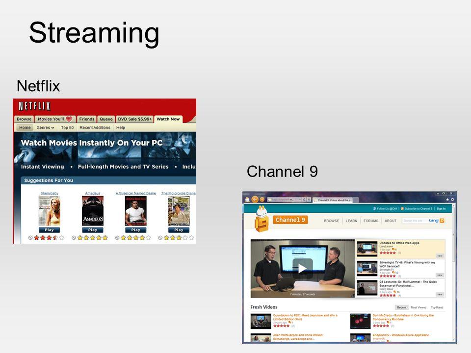 Streaming Netflix Channel 9