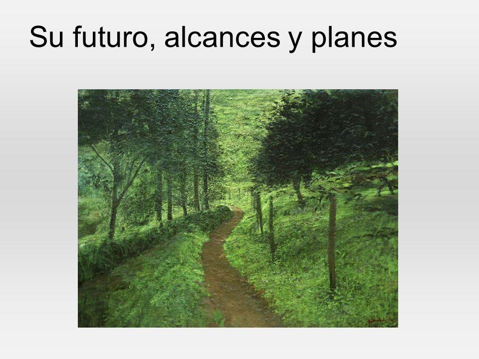 Su futuro, alcances y planes