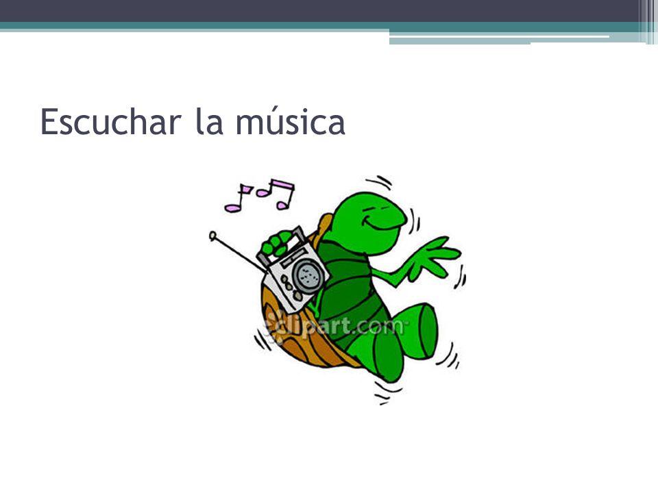 Escuchar la música