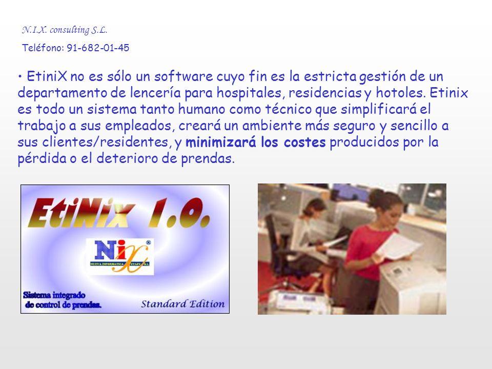 N.I.X. consulting S.L. Teléfono: 91-682-01-45 Recursos que Nix pone a su alcance.