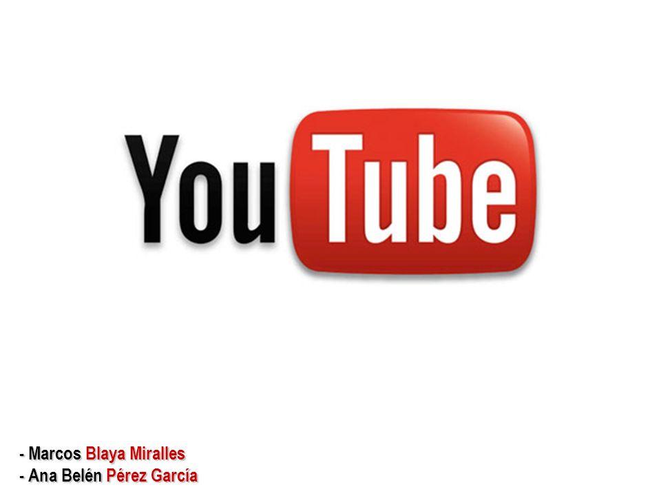 Índice de contenidos: Antes de nada… Antes de nada… ¿Qué es youtube.