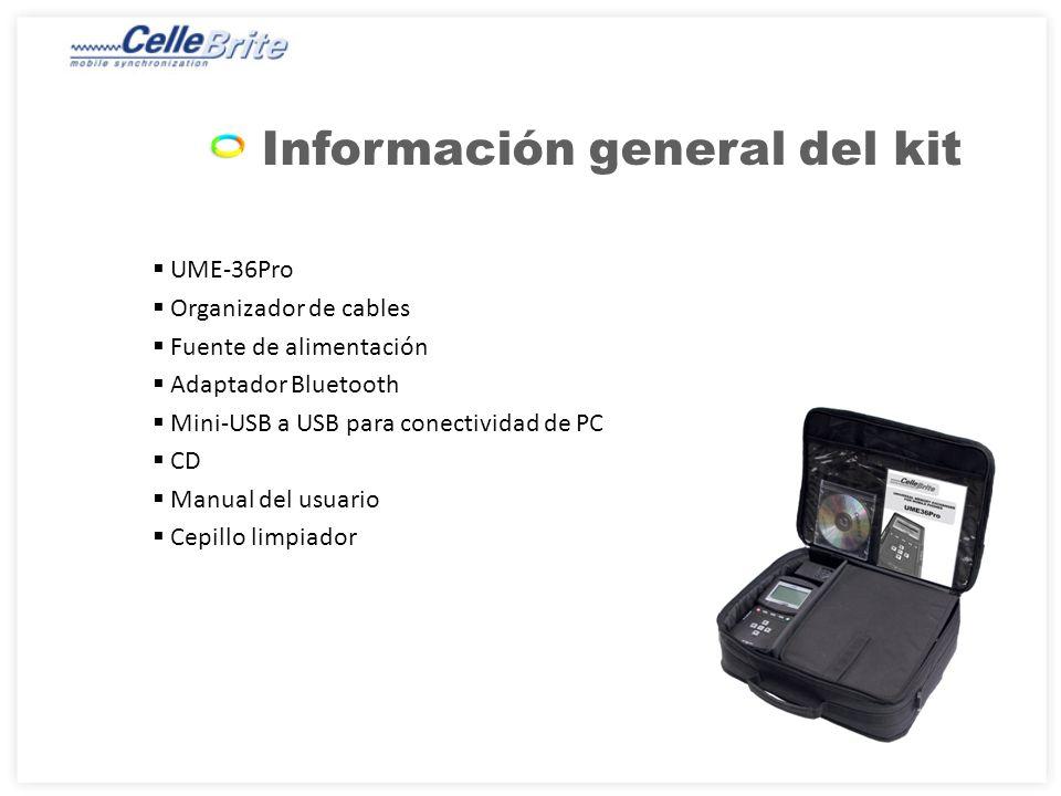 Origen: RJ-45: para conectividad serie de teléfonos USB: para conectividad USB de teléfonos IrDA: para conectividad infrarroja Ranura para tarjeta SD: para respaldo/restauración de datos hacia/desde tarjeta SD Descripción física