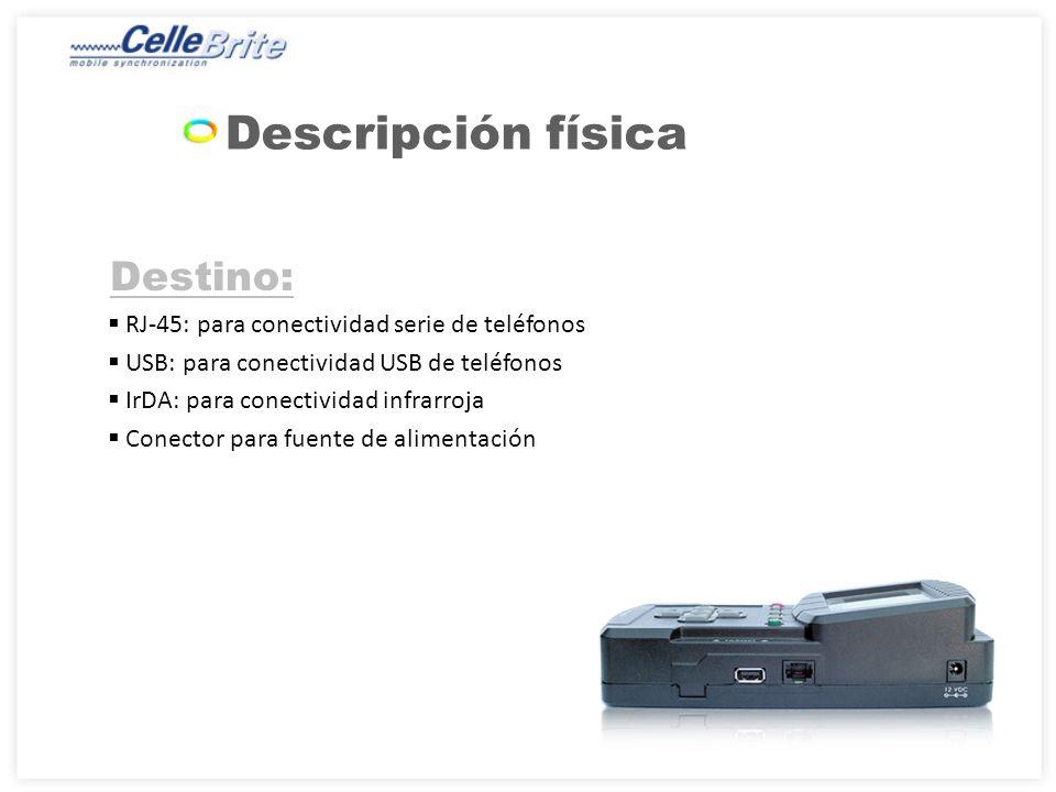 Menú principal MarcaModeloOpciones de menú disponiblesSeleccionar MotorolaKRZRK1 En el menú del teléfono, compruebe que Configuración->Conexión- >Configuración USB esté definido como Conexión datos.