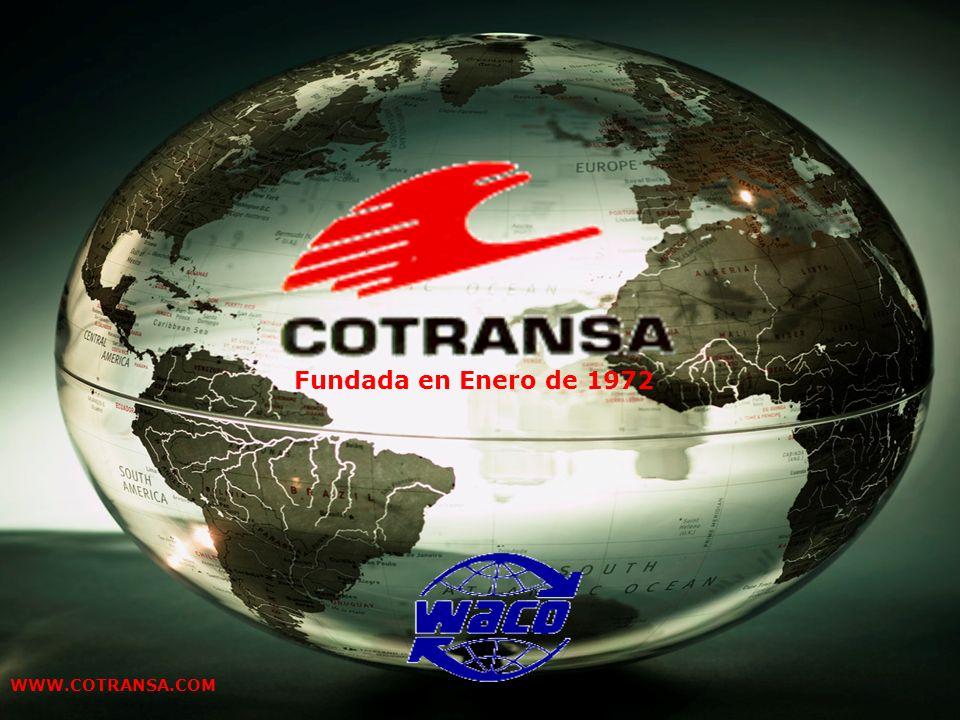 Presentación clientes Febrero 2008 WWW.COTRANSA.COM Fundada en Enero de 1972