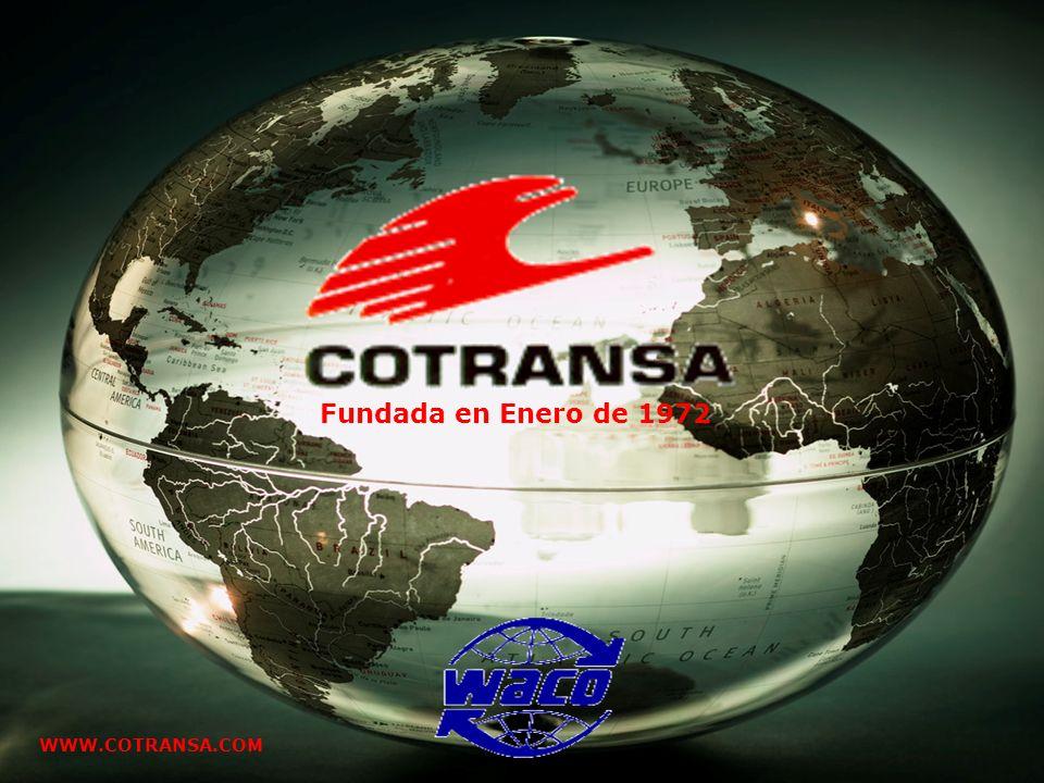 Presentación clientes Febrero 2008 Fundada en Enero de 1972 WWW.COTRANSA.COM
