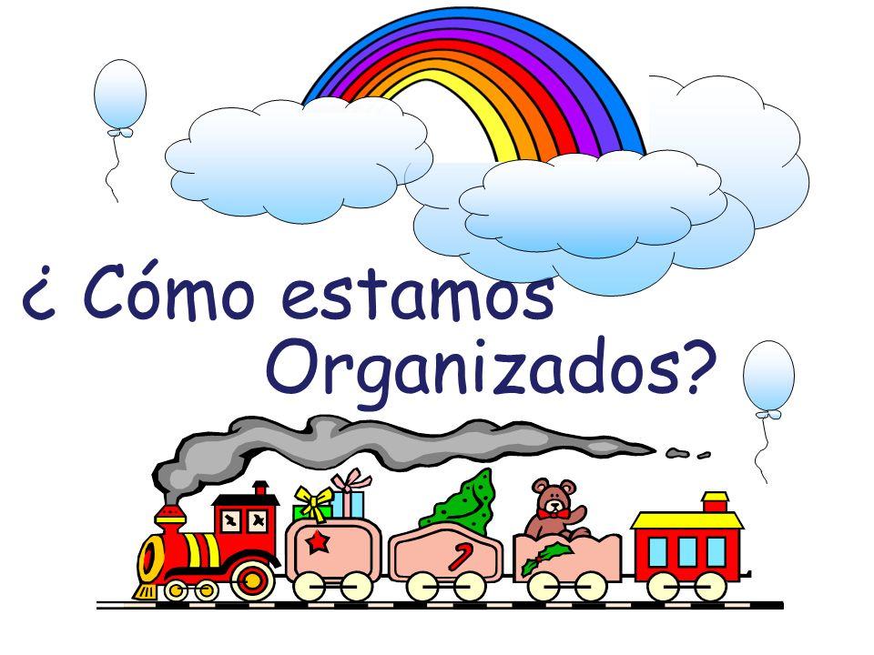 ¿ Cómo estamos Organizados?