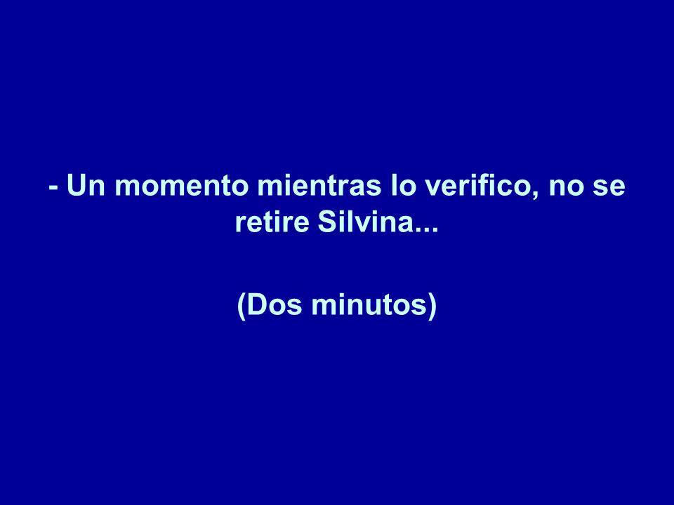 -Vea Silvina, cada vez que yo llamo a Movistar, antes de poder comenzar cualquier trámite, estoy obligado a dar mis datos a toda una legión de empleados...