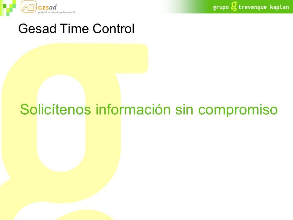 Gesad Time Control Solicítenos información sin compromiso