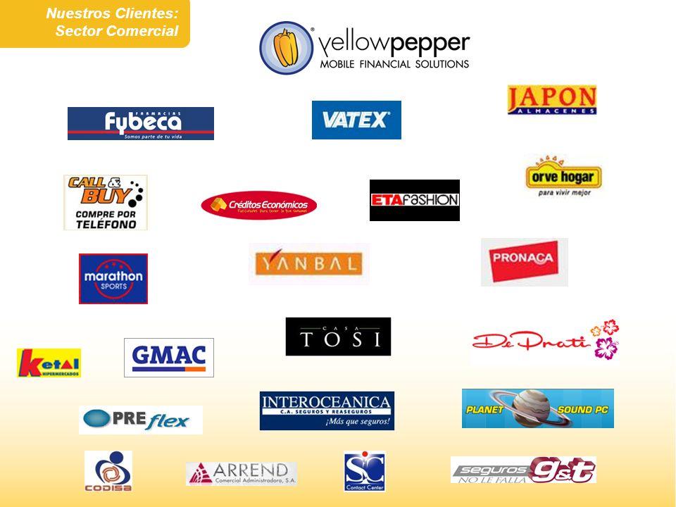 Nuestros Clientes: Sector Comercial