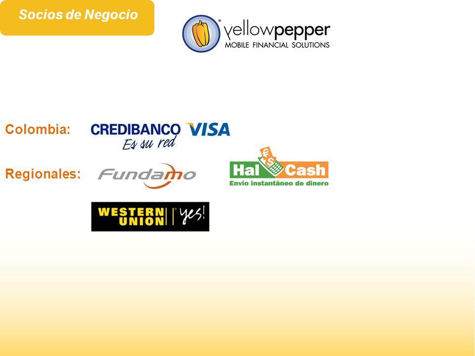 Regionales: Colombia: Socios de Negocio