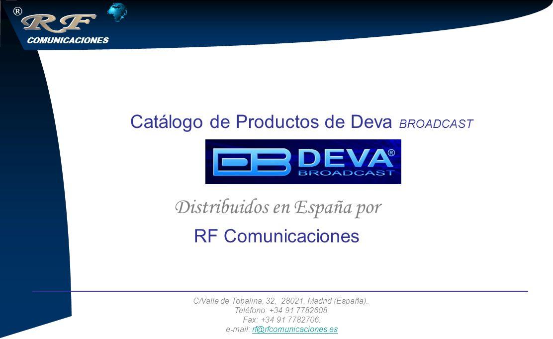 COMUNICACIONES ® C/Valle de Tobalina, 32, 28021, Madrid (España).