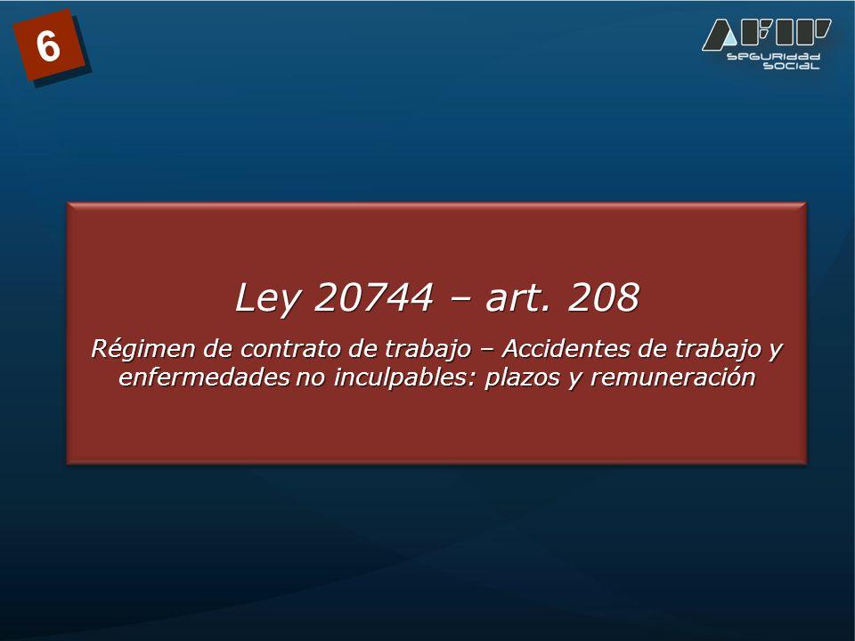 Ley 20744 – art.