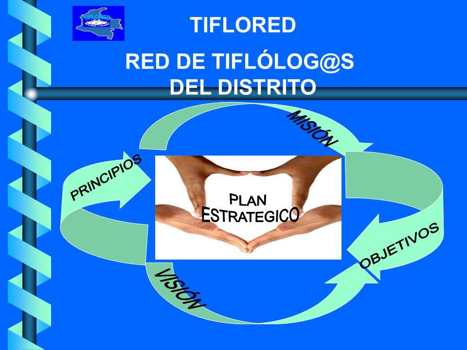 TIFLORED RED DE TIFLÓLOG@S DEL DISTRITO
