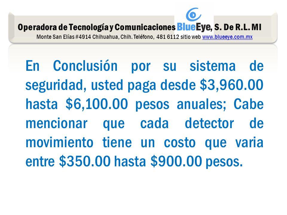 Operadora de Tecnología y Comunicaciones, S. De R.L.