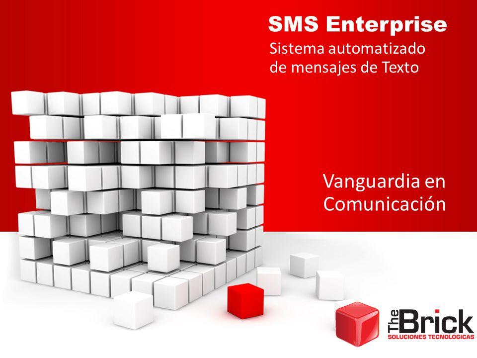 SMS Enterprise Vanguardia en Comunicación Sistema automatizado de mensajes de Texto