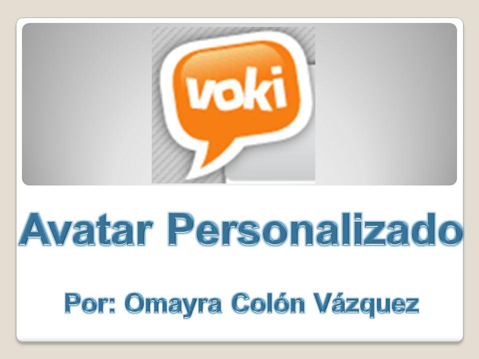 Cambia las características del personaje de Voki.