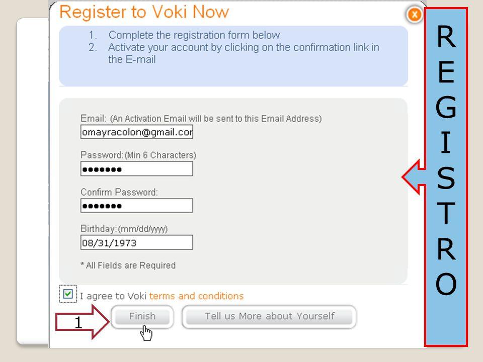Destino de selección Tamaño del VOKI Código Código para pegar en tu destino de selección.