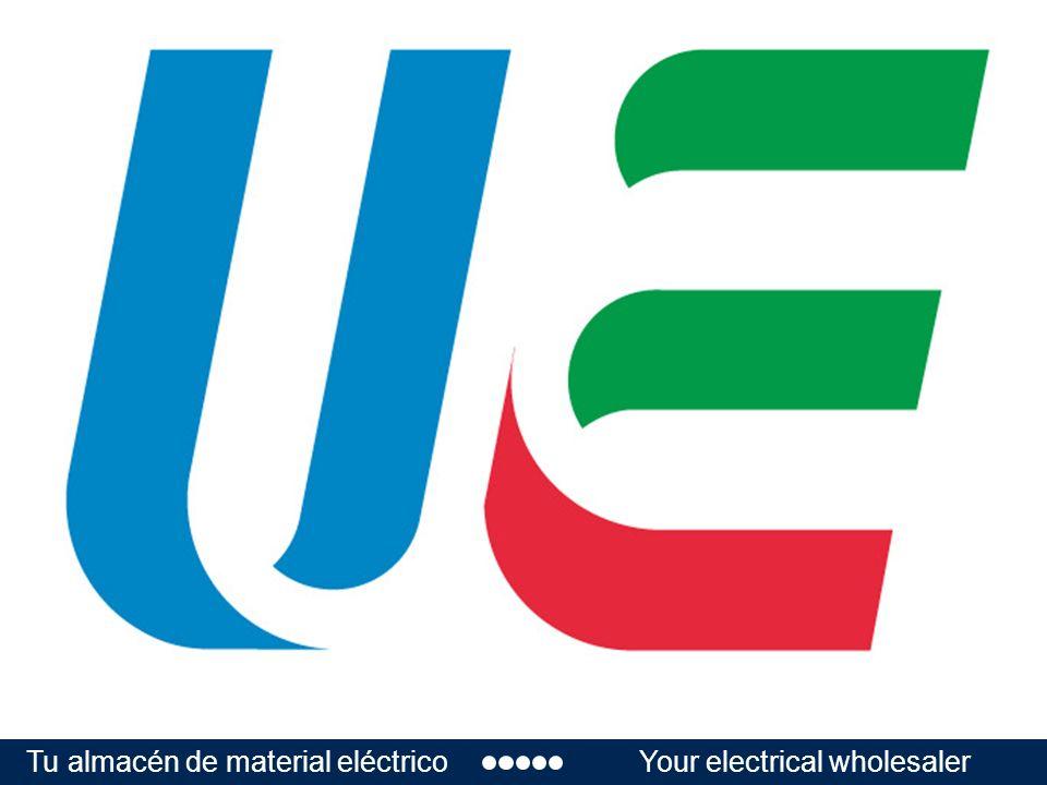 Tu almacén de material eléctricoYour electrical wholesaler