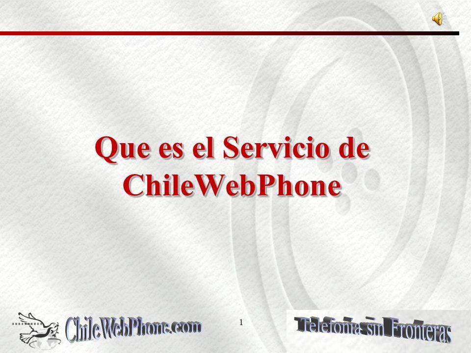 21 PLANES DE LLAMADO ChileWebPhone