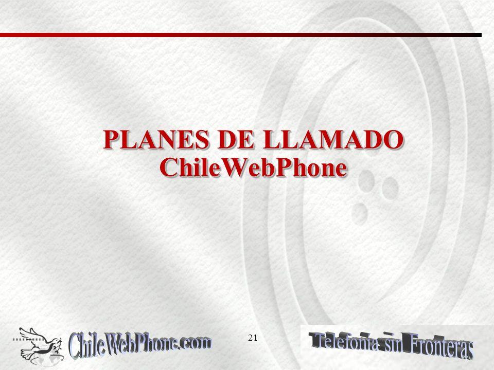 Hello mi Plan de Chile permite números 20