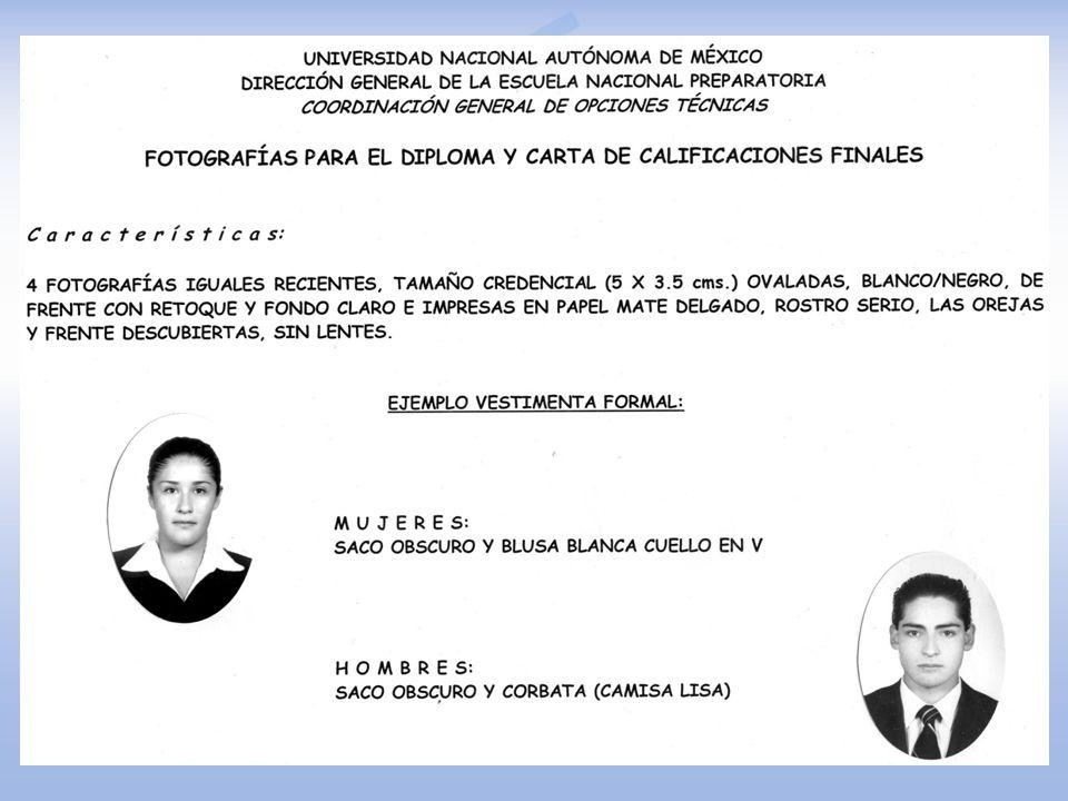 CARTA DE TÉRMINO Estar en hoja membretada Estar dirigida a la IQ. Ángela E. Villanueva Vilchis, Coordinadora General de las Opciones Técnicas de la Es