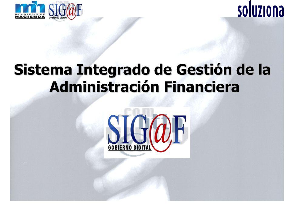 Sistema Integrado de Gestión de la Administración Financiera